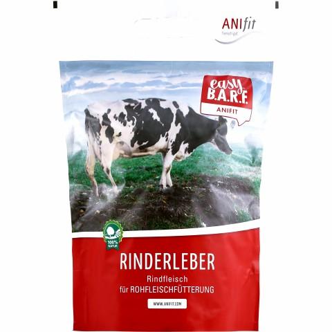 Easy Barf Rinderleber 300g (1 Stück)